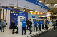 Atlassian at a trade show