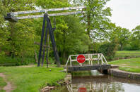 LLangollen canal near whitchurch, shropshire