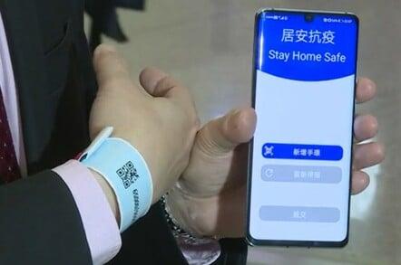 Hong Kong's COVID-19-tracking wristband