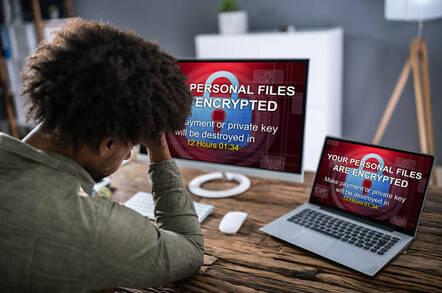ransomware locks up pc