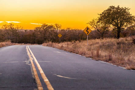 road in wichita near kansas city