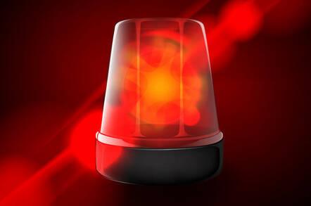 Red alert light
