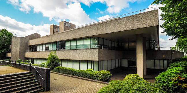 IBM's iconic brutalist architecture landmark in London