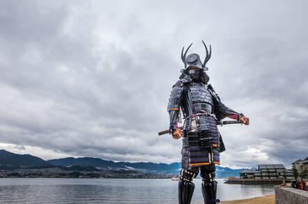 A samurai in Japan