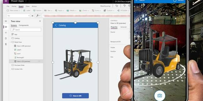 Mixed Reality is coming to Power Apps