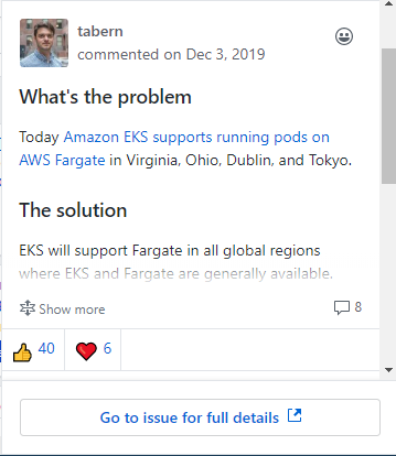 Fargate support for the AWS Kubernetes service in all regions? We're working on it says AWS