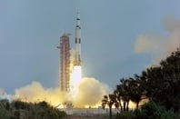Apollo 13 Launch (pic: NASA / JSC)