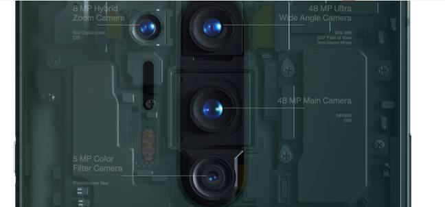 cameras on the OnePlus 8
