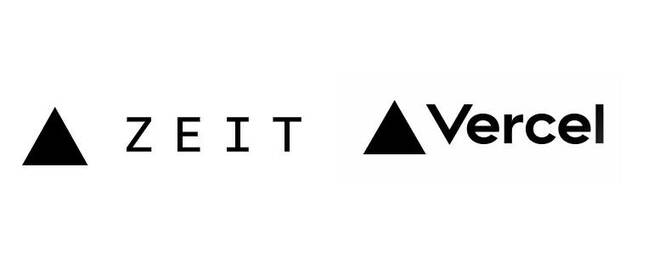 The old complicated logo (left) versus the new simplified effort (right)