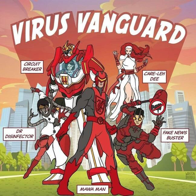 Singapore's Virus Vanguard