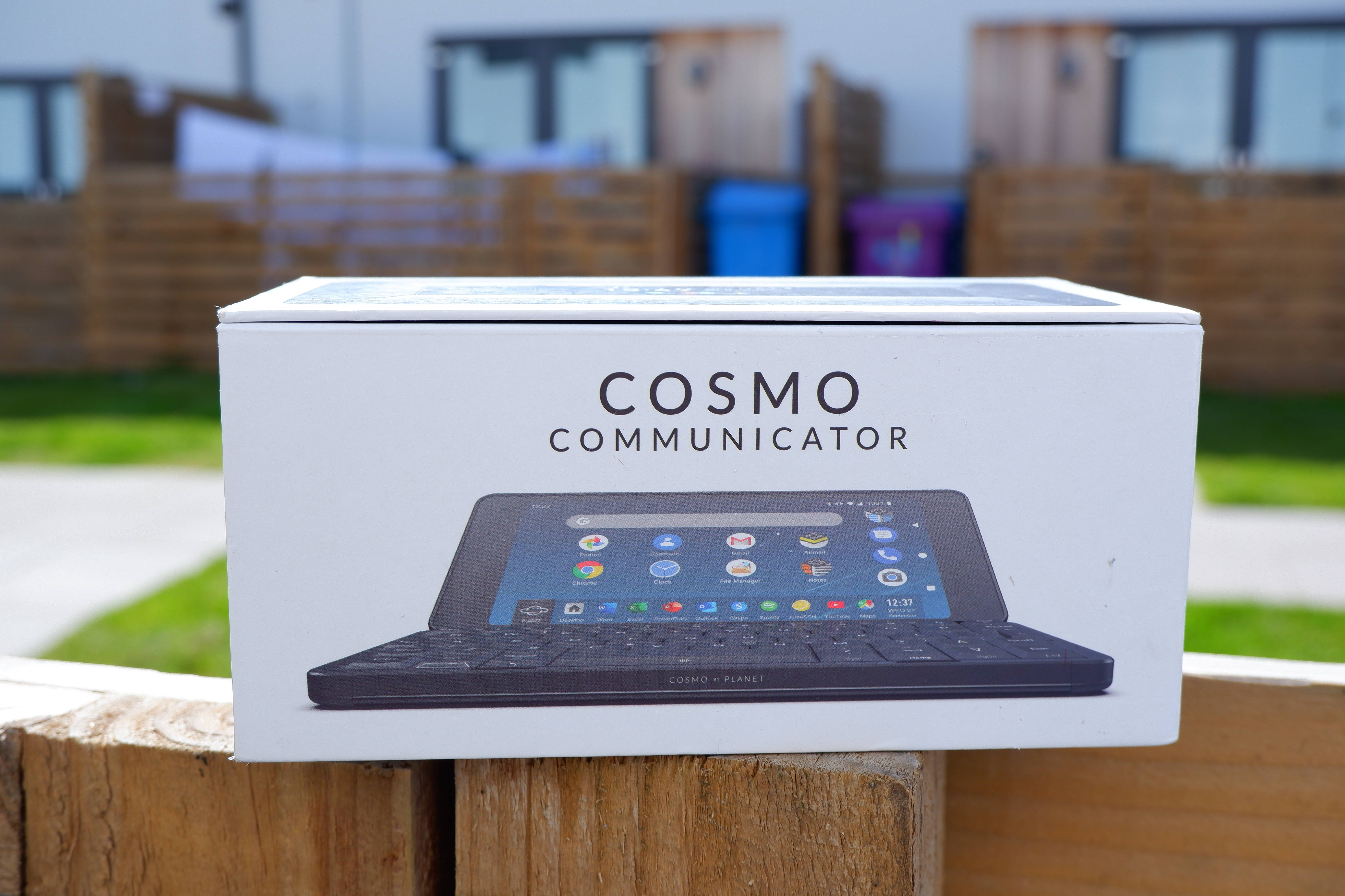 Cosmo Communicator - cover