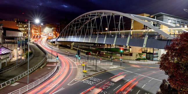 Bridge in Sheffield city centre