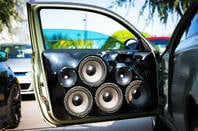 Upgraded car, new speakers, custom made