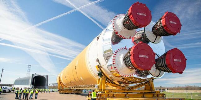 NASA Space Launch System first stage