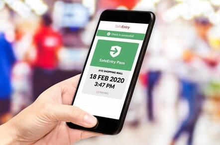 secure entry singapore app