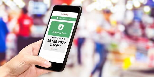 safe entry singapore app