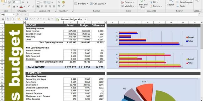SoftMaker PlanMaker on Linux