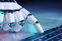 Robot typing