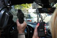 People using audio surveillance gear