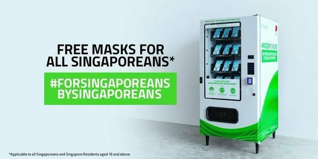 Razer's free mask vending machine