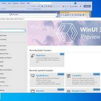 Here it is: WinUI running as a Win32 desktop application