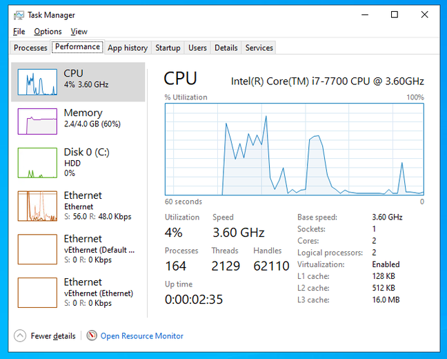 Task Manager in Windows 10 looks a bit different but has many of the same core features