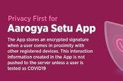 Aarogya Setu privacy