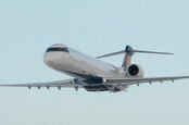 A Bombardier CRJ200 airliner. Pic: Bombardier