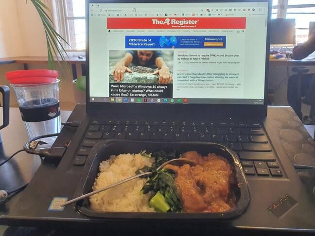 Airline massaman curry