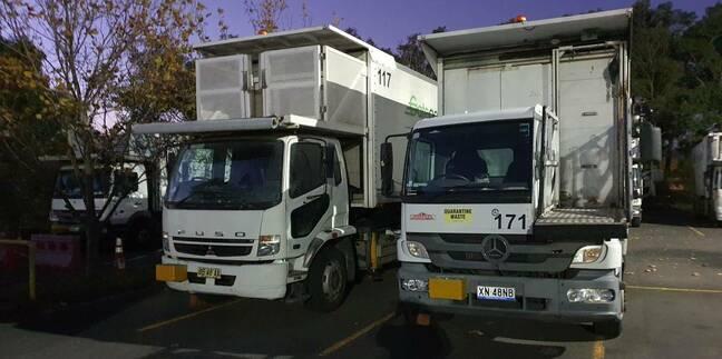 Gategourmet airline catering trucks