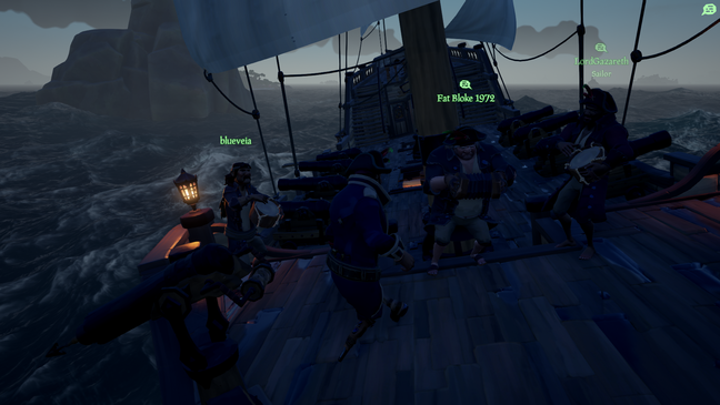 Dancing and playing sea shanties together is worth the entry ticket alone