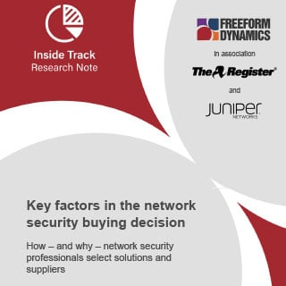 Key factors in the network security buying decision