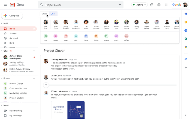 G Suite is evolving into an integrated workspace where services like Email and Chat are together – but is it losing the simple UI that was part of its appeal?