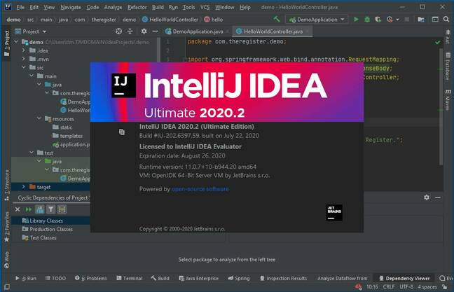JetBrains is releasing version 2020.2 of its Java IDE this week.