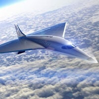Concept art for Virgin Galactic supersonic jet design