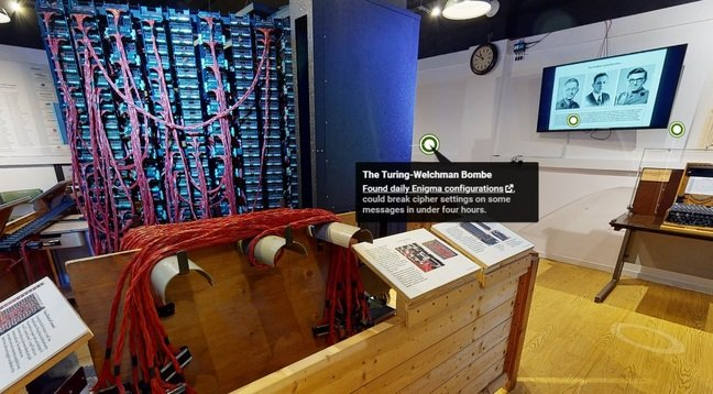 The Turing-Welchman Bombe, The National Museum of Computing History's virtual tour