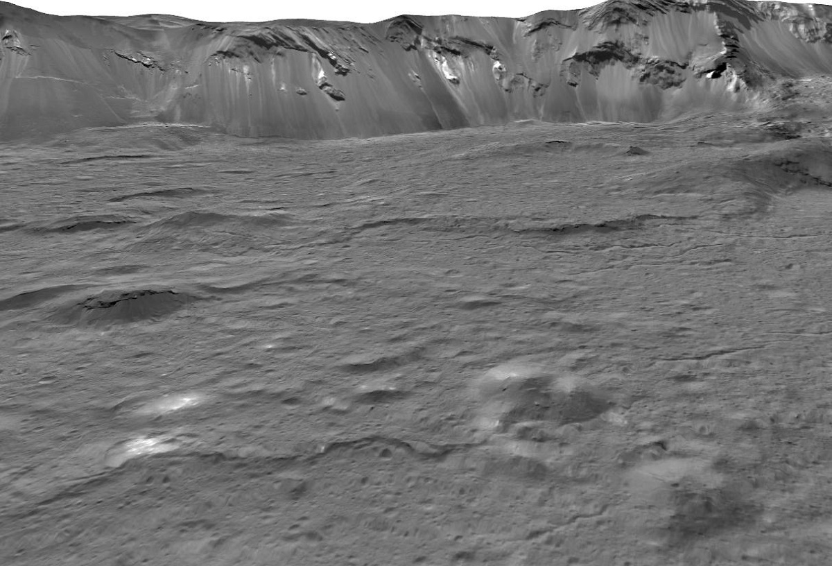 Why so salty, Ceres? Is it on account of your underground oceans and cryovolcanism?