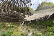Arecibo telescope damage