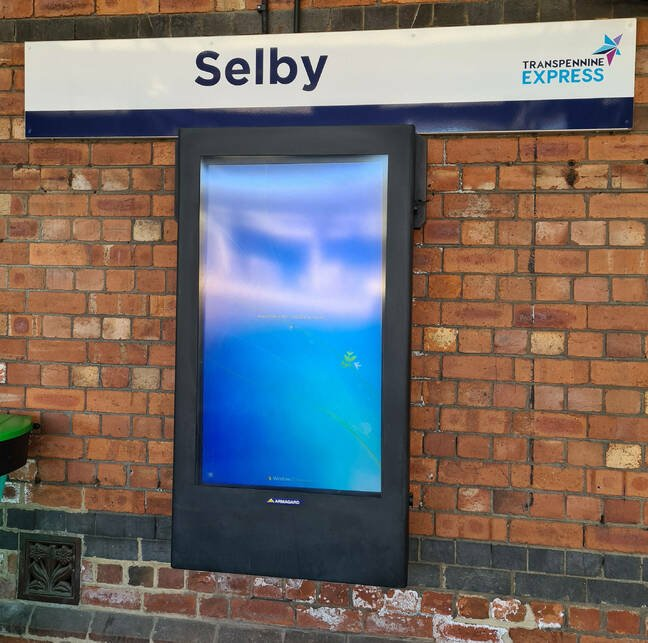 Selby station BORK
