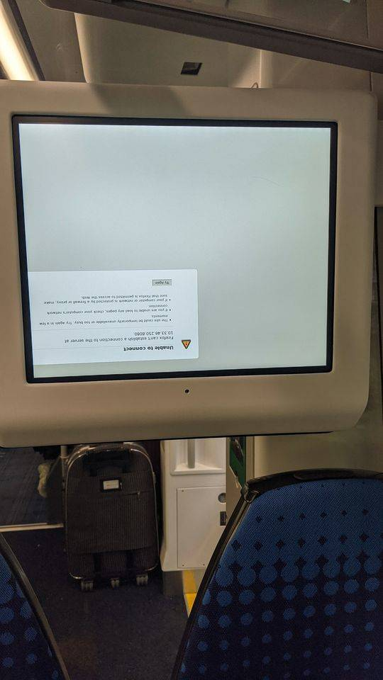 BORK firefox Northern Trains