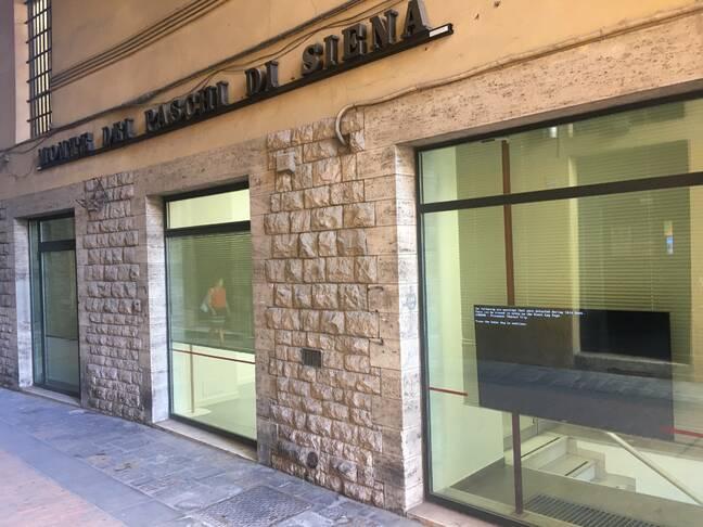 Perugia bank screen error
