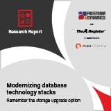 Modernizing database technology stacks
