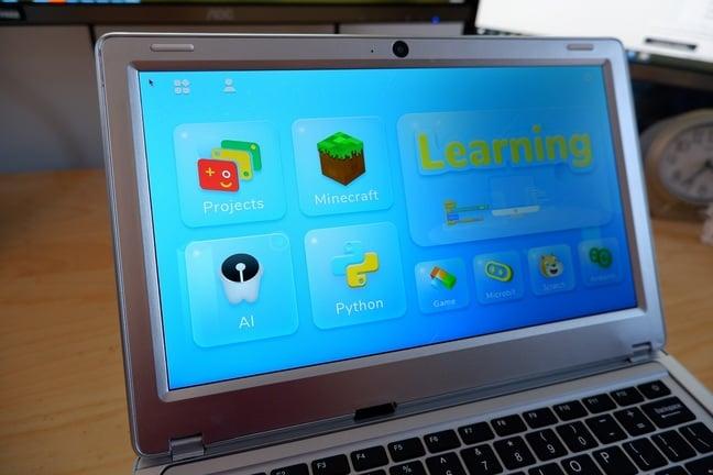 CrowPi2's custom Linux for kids