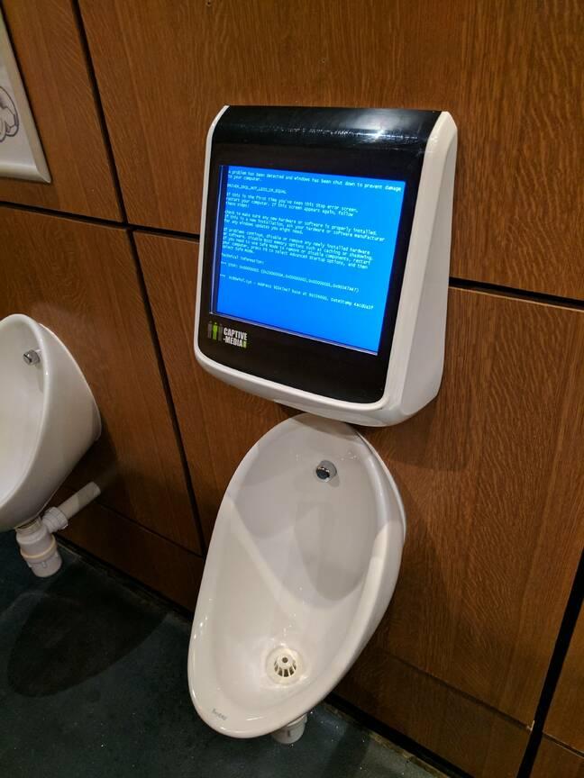 toilet bork