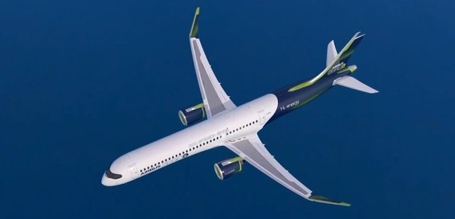 Airbus concept plane