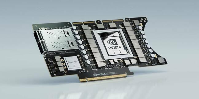 The NVIDIA EGX A 100 GPU/DPU