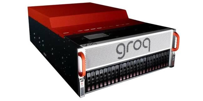 A Groq node box