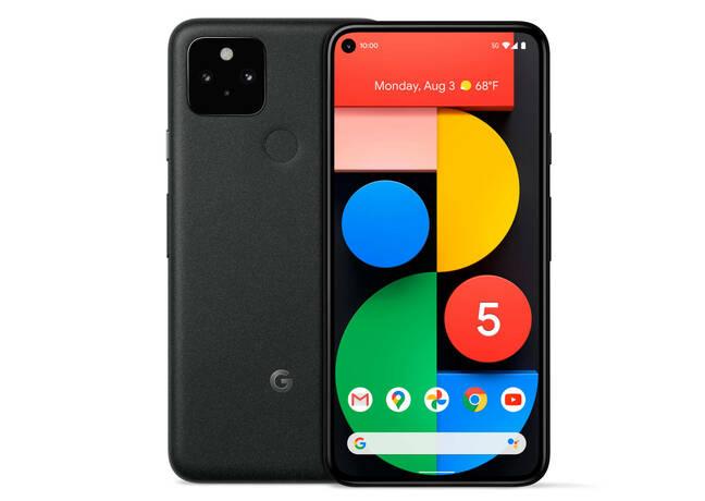 The Google Pixel 5 smartphone