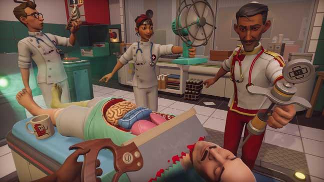 Screenshot from Surgeon Simulator 2