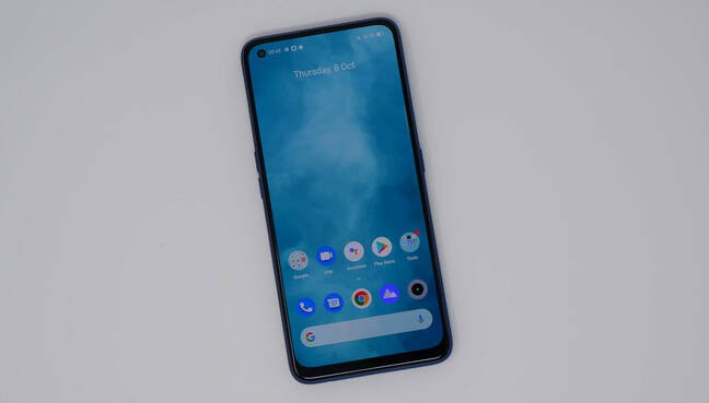 RealMe 7 Pro display android